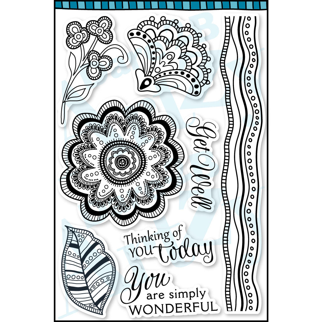 Blissful Blooms Stamp Set