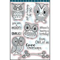 Hoot Hoot Paper Pack (15 sheets)