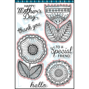 Flowers for Mom Stamp Set