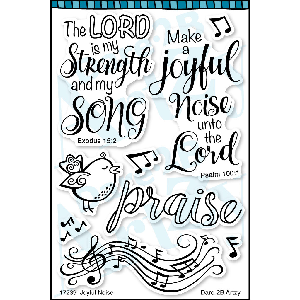 Joyful Noise Stamp Set