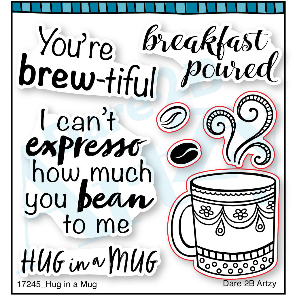 Hug in a Mug Stamp Set