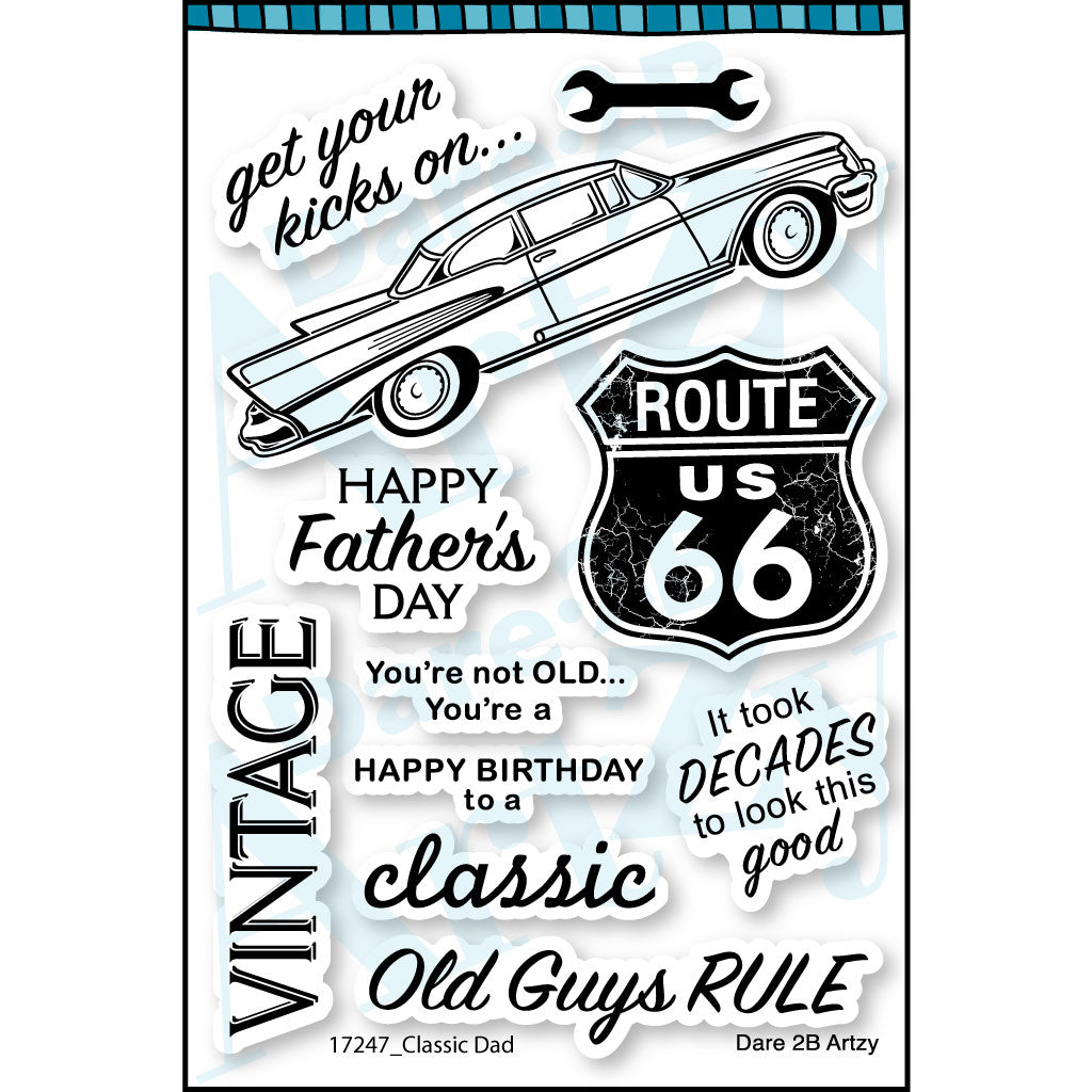 Classic Dad Stamp Set