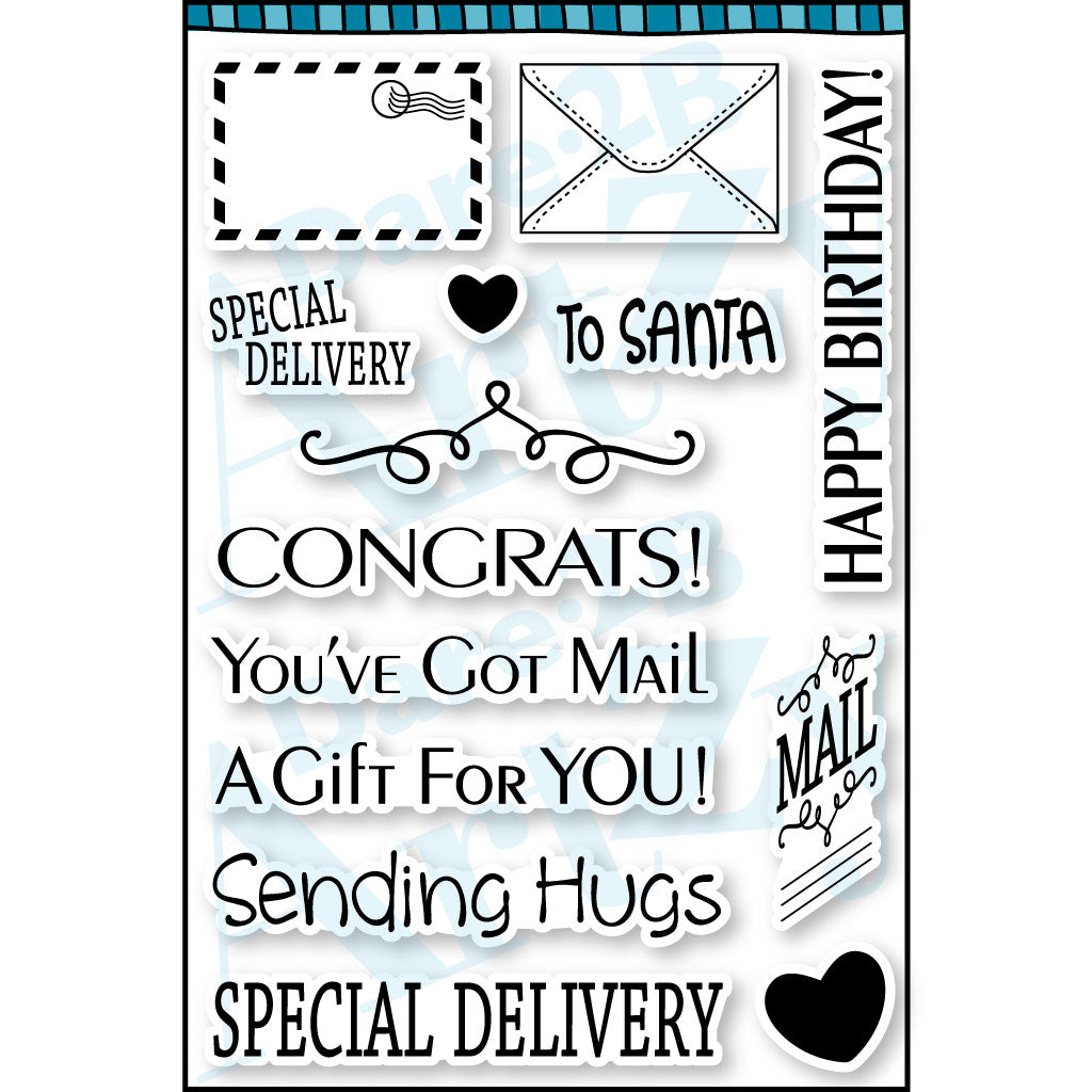 You've Got Mail Stamp Set