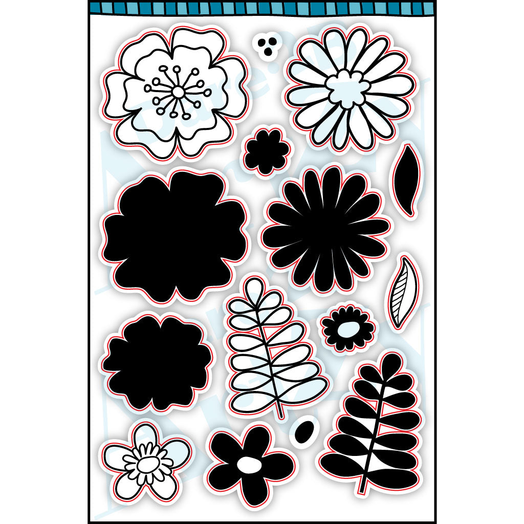 Playful Posies Stamp Set