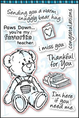 Teddy Bear Hugs Stamp Set