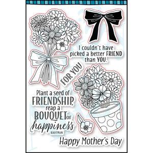 Bouquet 4 You Stamp Set