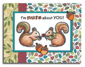 Squirrel Stamp Set