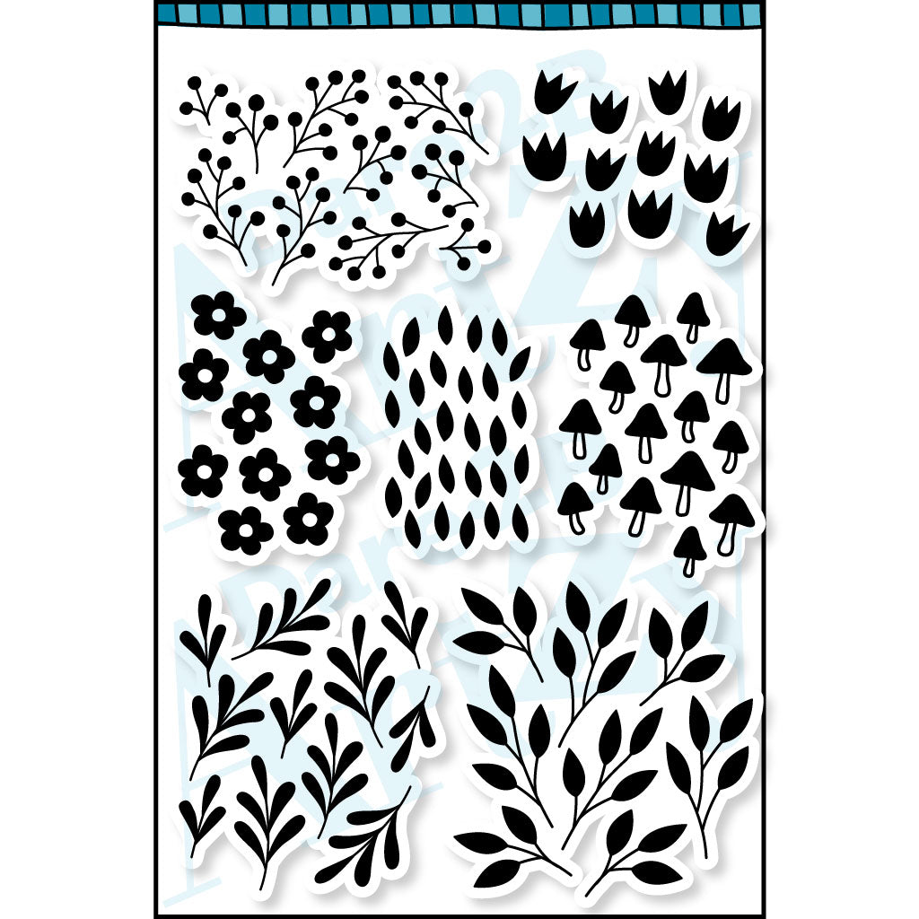 Nature Backgrounds Stamp Set