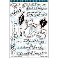 Woodland Animals Paper Pack (15 papers)