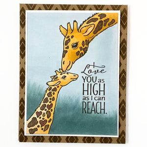 Stand Tall (Giraffe) Stamp Set