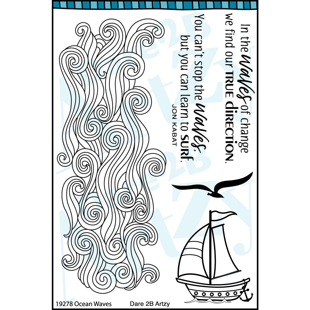 Ocean Waves Stamp Set