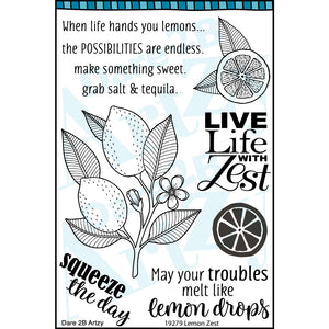 Lemon Zest Stamp Set