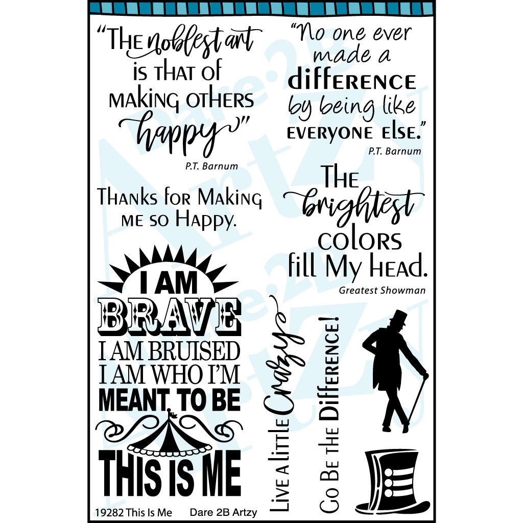 This is Me Stamp Set