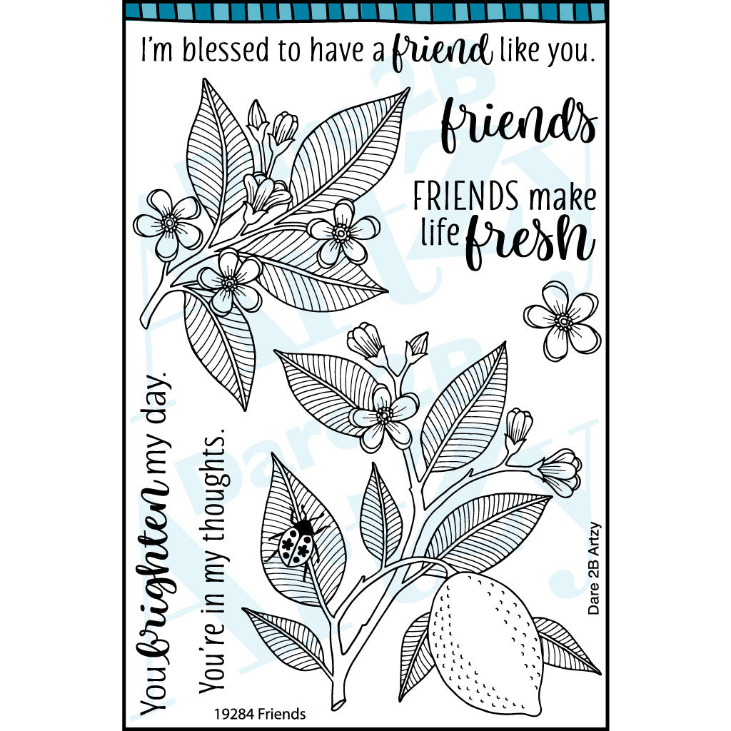 Friends Stamp Set