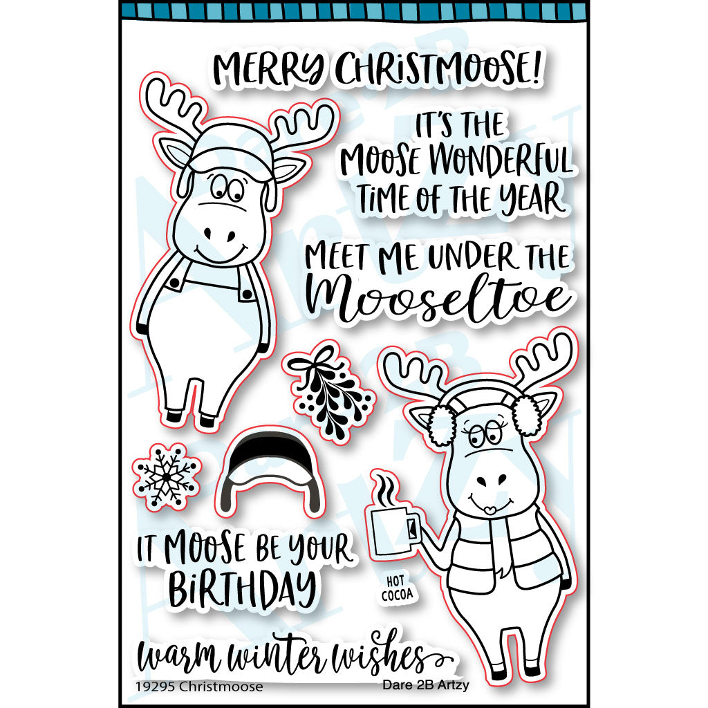 Christmoose Stamp Set