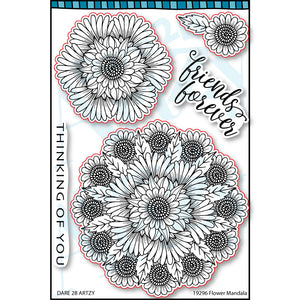 Flower Mandala Stamp Set