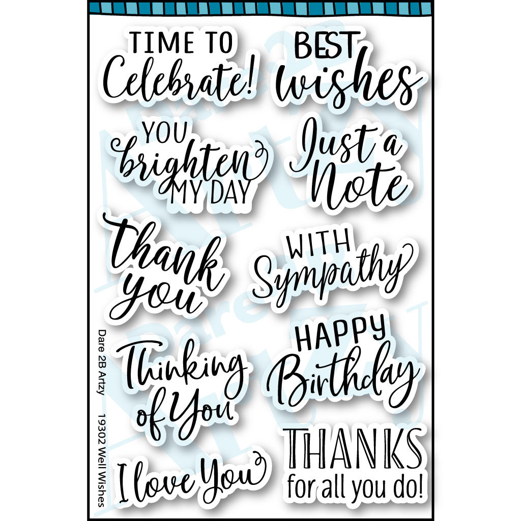Well Wishes Stamp Set