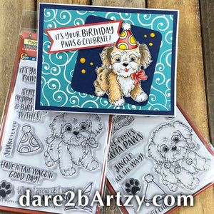 Christmas Puppy Stamp Set