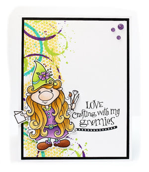 Crafty Gnome Stamp Set