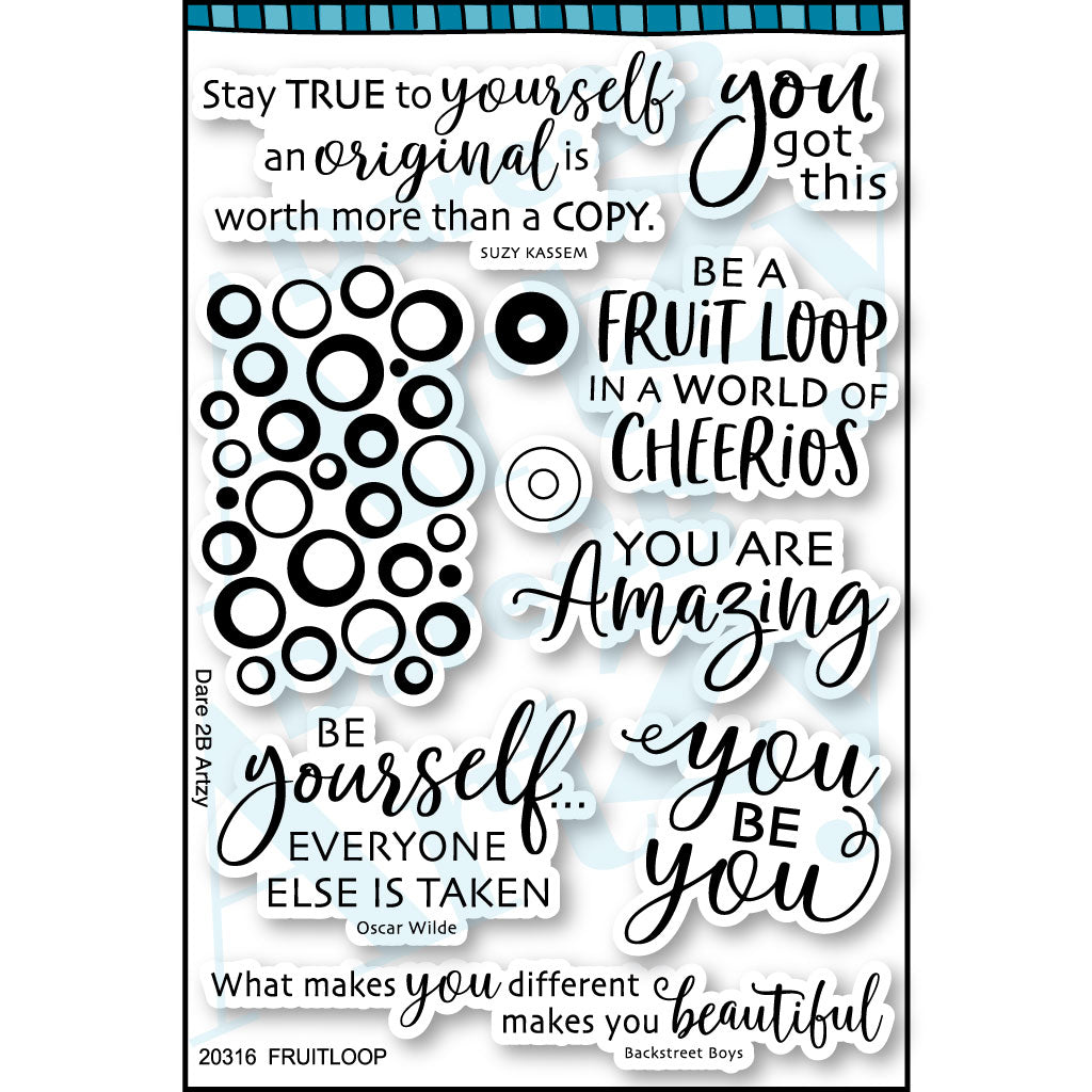 Fruit Loop Stamp Set