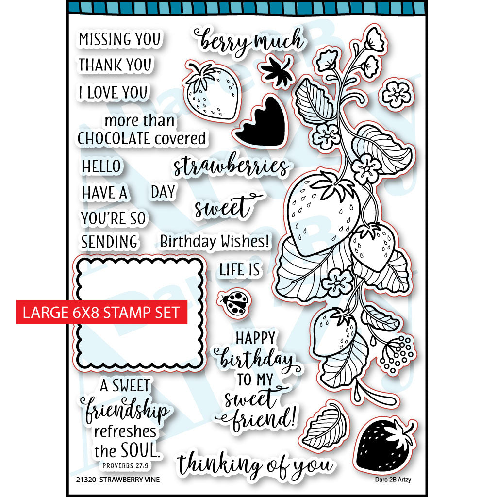 Strawberry Vine Stamp Set