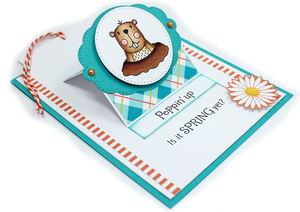Groundhog Garden Stamp Set
