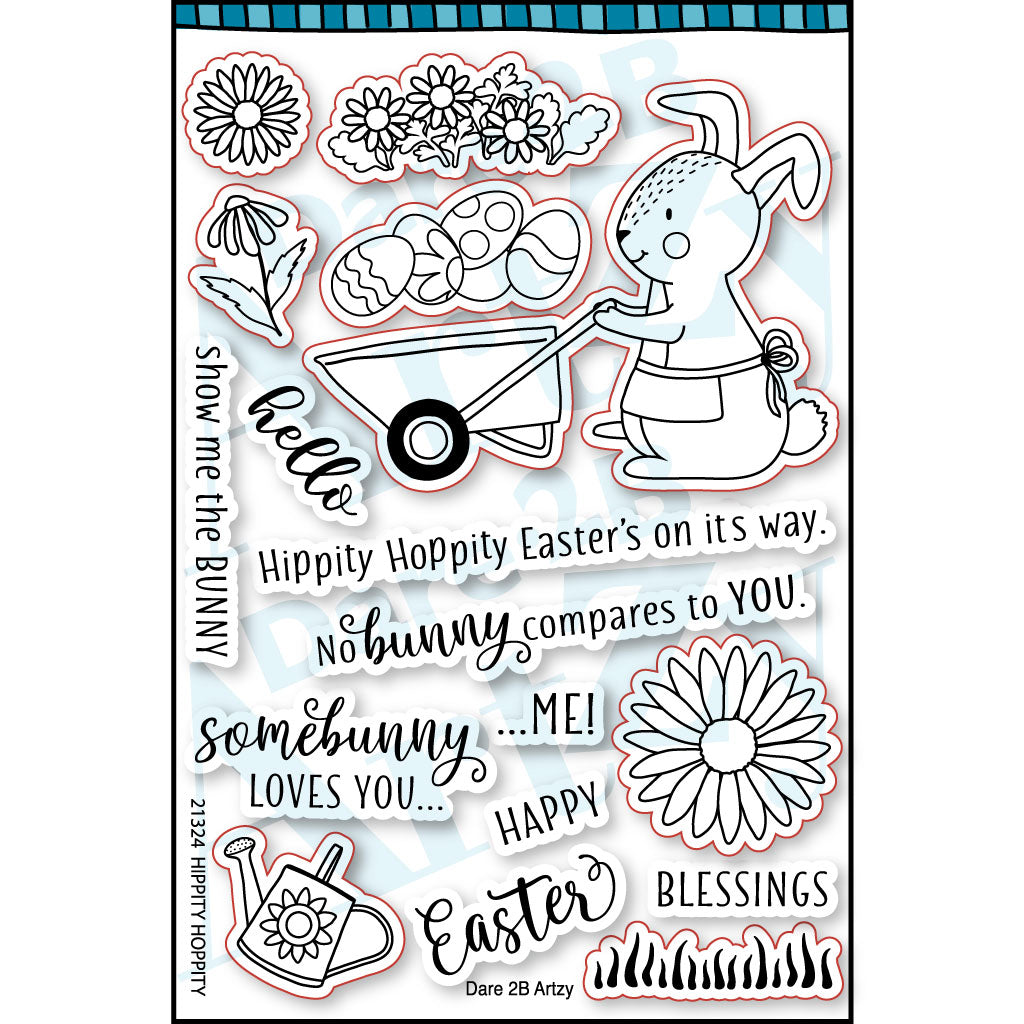 Hippity Hoppity Stamp Set