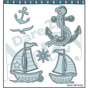 Sail Away Paper Pack (15 Sheets)
