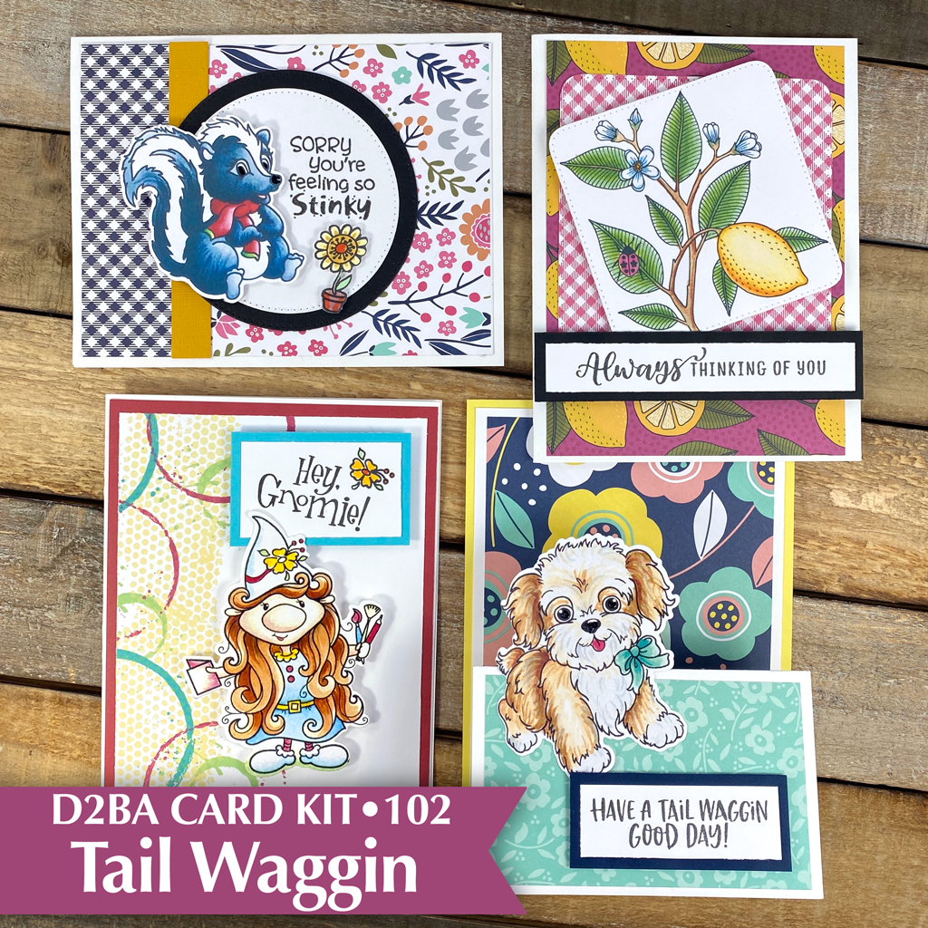 TAIL WAGGIN •  Card Kit 102