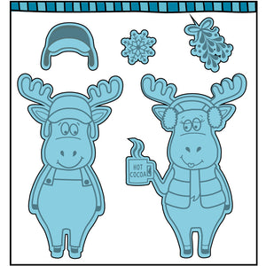 Christmoose Stamp Set (NEW PRODUCT - Ships Approximately August 31st, 2019)