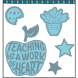 Best Teacher Stamp Set