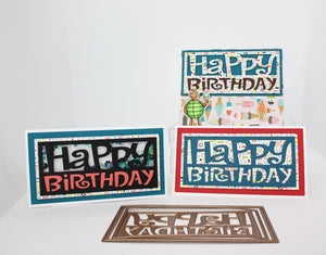 Slim Mini Birthday Die