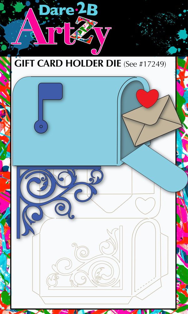 Mailbox Die (Gift Card Holder)