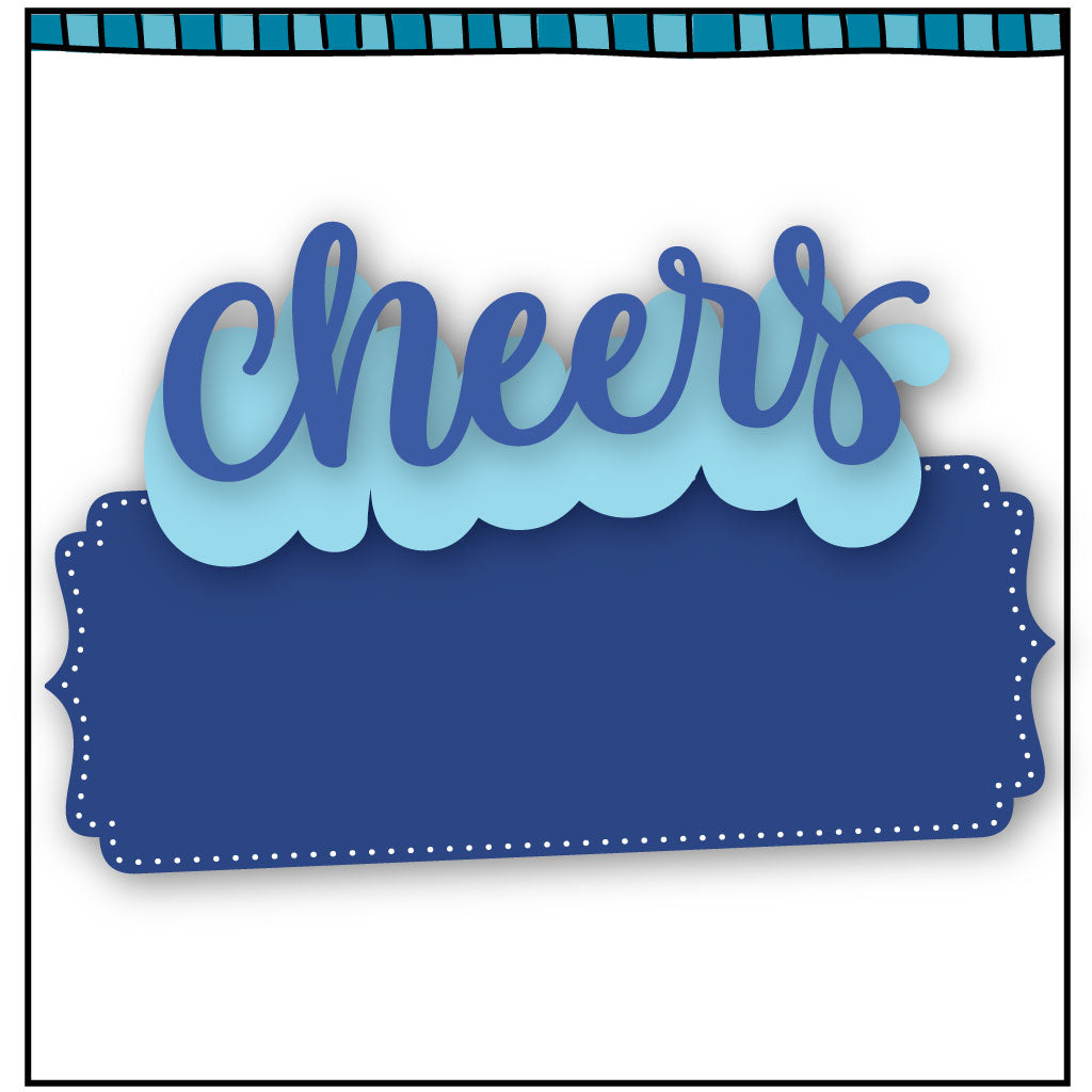 Cheers layered die
