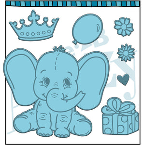 Baby Elephant Stamp Set