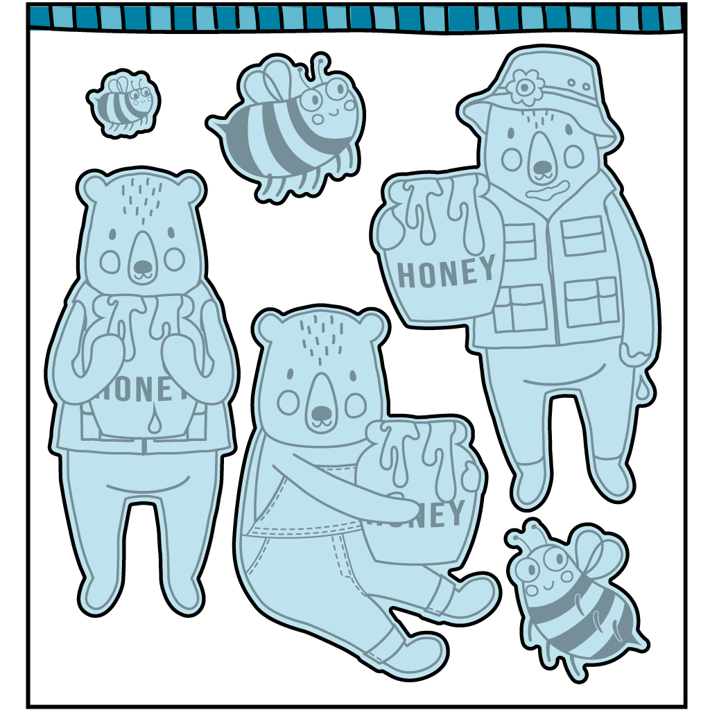 Honey Bears Die (Shipping Approximately March 15th)