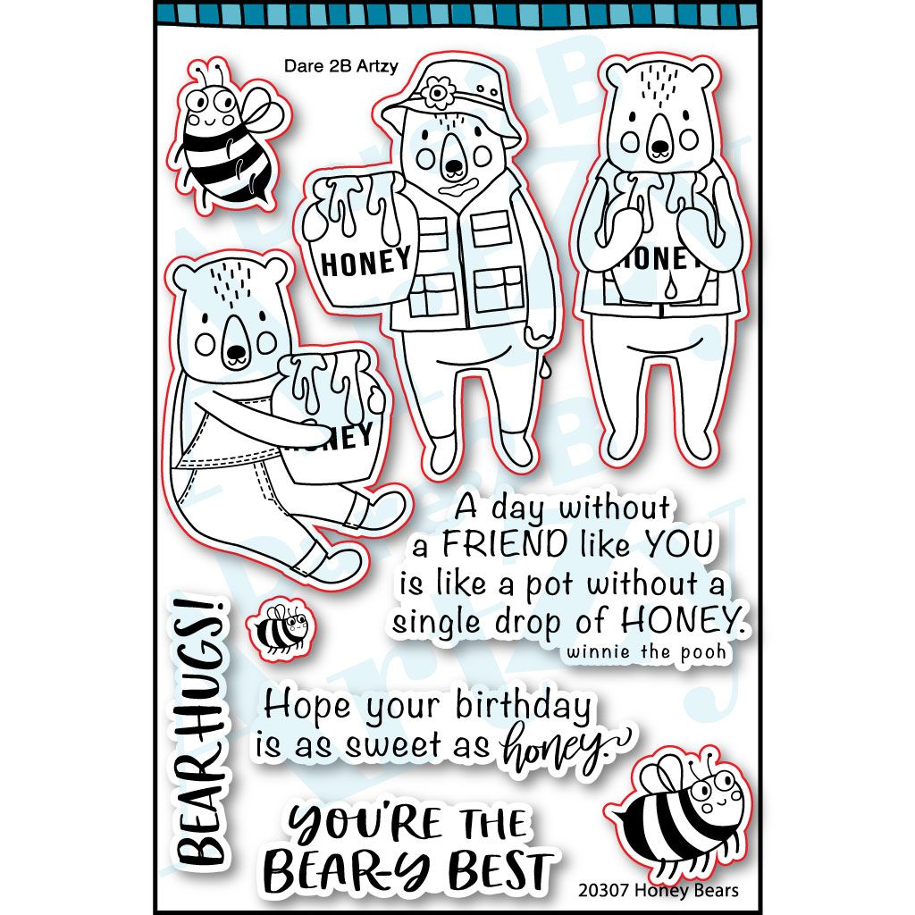Honey Bears Stamp Set