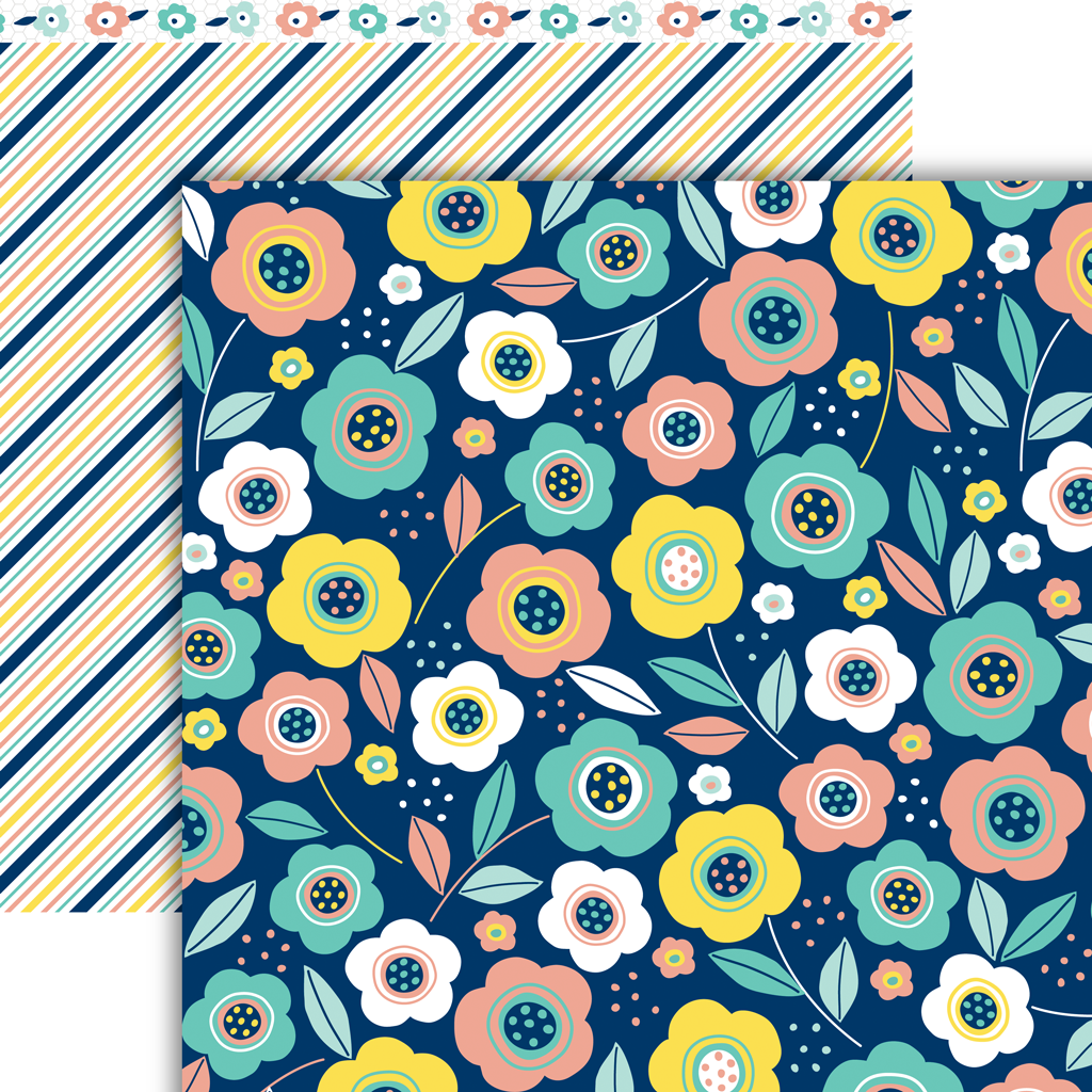All a Bloom Paper Pack (15 Sheets)