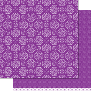 Artzy Doodles - Wild Orchid Paper Pack (15 Sheets)