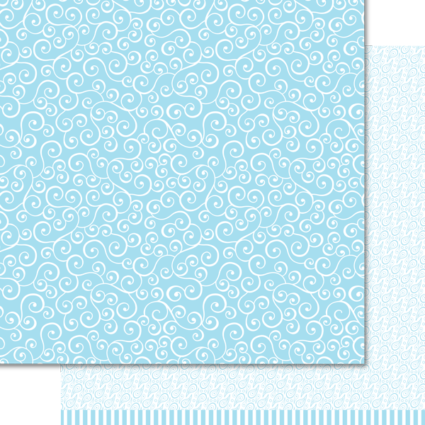 Artzy Doodles - Blue Sky Paper Pack (15 Sheets)