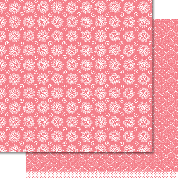 Artzy Doodles - Summer Pink Paper Pack (15 Sheets)