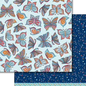 Butterflies Paper Pack (15 sheets)