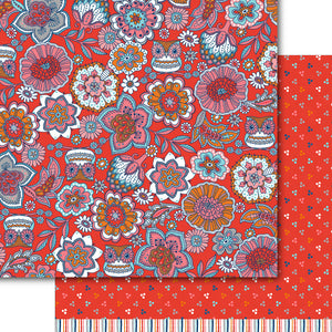 Flower Power Paper Pack (15 sheets)