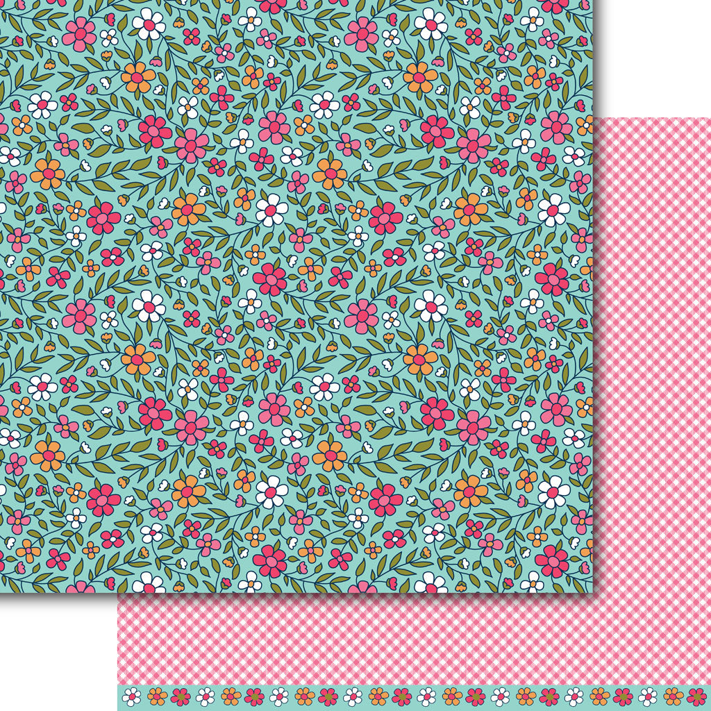 Pretty n' Pink Paper Pack (15 Sheets)