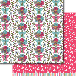 Fresh Cut Blooms Paper Pack (15 Sheets)