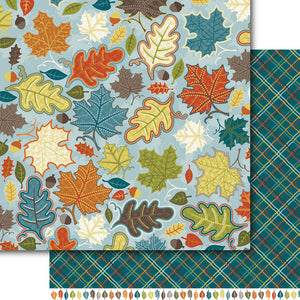 Autumn Leaves Paper Pack (15 papers)