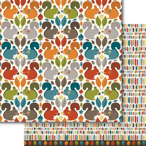 Crazy for Squirrels Paper Pack (15 papers)