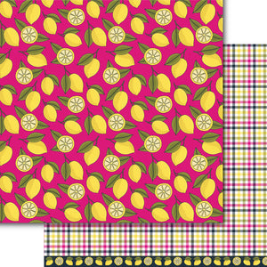 Pink Lemonade Paper Pack (15 Sheets)