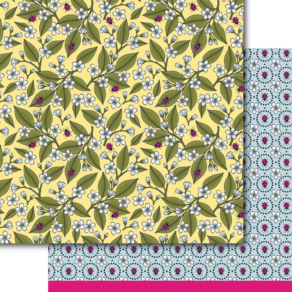 Fresh Garden Paper Pack (15 Sheets)