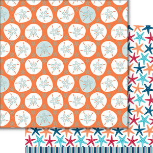 Sanddollars & Starfish Paper Pack (15 Sheets)